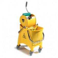 Відро WITTY з віджимом DRY жовтого кольору 30 л 66450