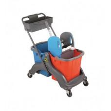 Візок для прибирання пластиковий CK756