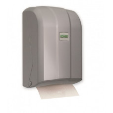 K6ZМ  Диспенсер листовой туалетной бумаги  пластик сатиновый