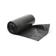 """M201 Black Мешки д/мусора 35л(50шт) ЧЕРНЫЕ """"Чистота и блеск"""""""