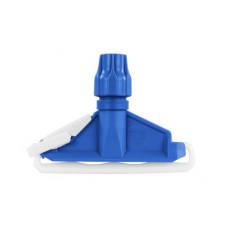 Затиск для мопов пластик синій 1905