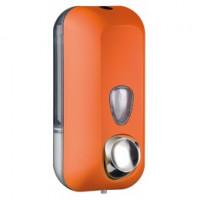Дозатор рідкого мила пластик помаранчевий 550мл 714AR