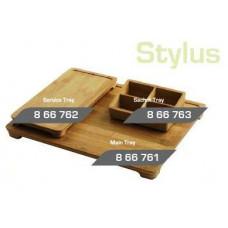 STYLUS деревянный поднос гостеприимства