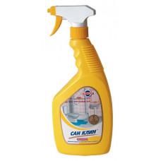 Засіб для чищення сантехніки з розпилювачем 750 г Сан Клин Сантик