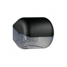 619NE Держатель туалетной бумаги пластик черный