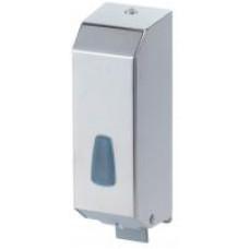 Дозатор жидкого мыла 1,2 л нержавейка глянцевая 542С