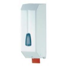 542W Дозатор жидкого мыла пластик белый 1,2л