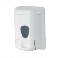 Дозатор рідкого мила пластик білий 0,55 л 775WIN