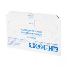 Гігієнічні накладки на унітаз, 200 шт КТ-200МКБ