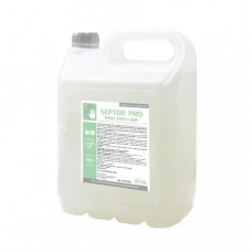 Засіб рідкий гігієнічний антибактеріальний для шкіри рук та тіла SEPTOR PRO 5л HS015000