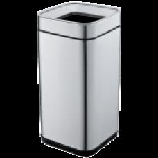 Відро для сміття JAH 15 л срібний металік без кришки і внутрішнього відра 6333