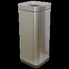 Відро для сміття JAH 30 л срібний металік без кришки і внутрішнього відра 6334