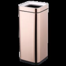 Відро для сміття JAH 30 л рожеве золото без кришки і внутрішнього відра 6336