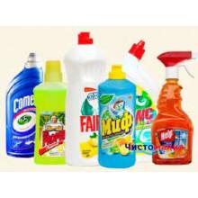 Миючі та чистячі засоби