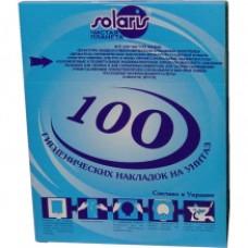 Гігієнічні накладки на унітаз, 100 шт. М-100