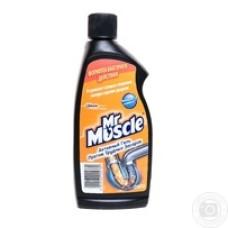 Засіб для чищення труб 500мл Mr.Muscle