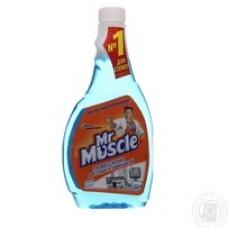 Засіб для миття скла зі спиртом запаска 500мл MR. MUSCLE