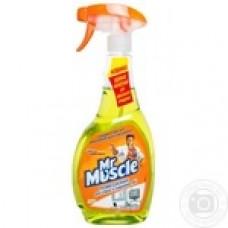 Засіб для миття скла зі спиртом 500мл MR. MUSCLE