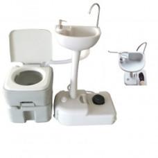Комплект для кемпинга: биотуалет и переносной умывальник 1020T+CHH7701