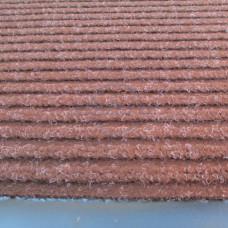 STRIP-120x180-BROWN Коврик полипропиленовый на основе ПВХ с ворсом коричневый