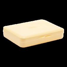 Коробка для гігієнічних прокладок жовта 5604