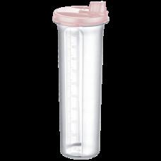 Бутылка для масла / уксуса 1,25 л бежевая прозрачная
