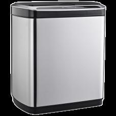 Сенсорне відро для сміття JAH 20 л прямокутне срібний металік з внутрішнім відром 6402