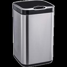 Сенсорне відро для сміття JAH 20 л квадратне срібний металік без внутрішнього відра 6377