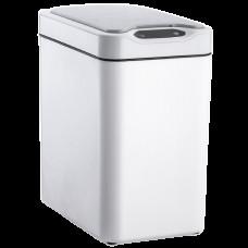 Сенсорне відро для сміття JAH 12 л прямокутне біле 6408