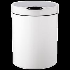Сенсорне відро для сміття JAH 12 л кругле біле 6382