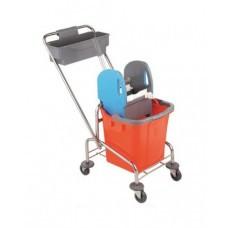 Візок для прибирання, хром ТK720