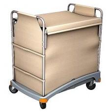 Візок готельний для білизни 340 л. з кришкою TSB-0001