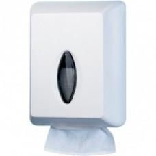 Диспенсер листового туалетного паперу білий 622w-tr