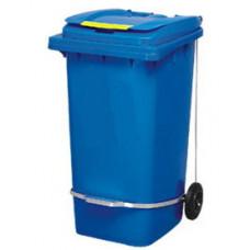 Бак для сміття з педаллю 240л синій 240A-11P2BL