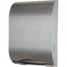 Диспенсер паперових рушників з нержавіючої сталі матовий TD-8324