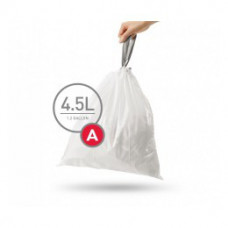 CW0250 Мешки для мусора плотные с завязками 4.5л SIMPLEHUMAN