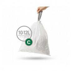 Мешки для мусора плотные с завязками 10-12л SIMPLEHUMAN CW0252