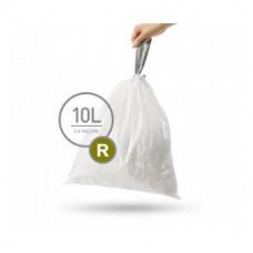 Мешки для мусора плотные с завязками 10л SIMPLEHUMAN CW0253