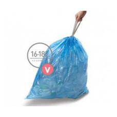 CW0269 Мешки для мусора плотные с завязками 16-18л SIMPLEHUMAN