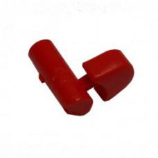Кнопка червона для основи S030470