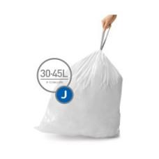 CW0259 Мешки для мусора плотные с завязками 30-45л SIMPLEHUMAN
