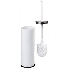 Щітка для унітазу метал білий напол / настен ES0010