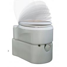 Біотуалет касетний, поршневий змив+водопостачання 3924TI