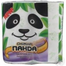 Бумага туалетная Сніжна панда Экстра Лонг 4 штуки в упаковке