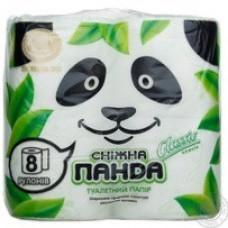 Папір туалетний Снігова панда 8 шт