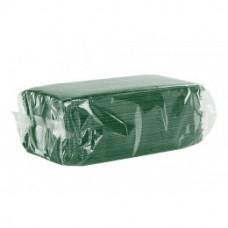 C 18 зеленые Салфетки столовые для размещения приборов