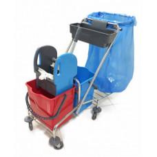 Візок для прибирання пластиковий CK759